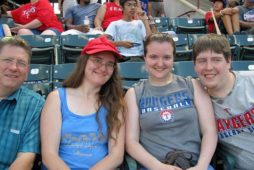 At the Rangers Game