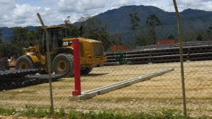 Exxon Mobil is leading a $19 billion project extracting natural gas from the Southern Highlands.