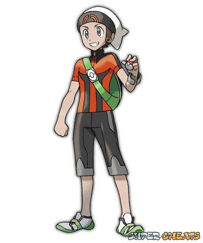 Main Characters  Pokemon Omega Ruby