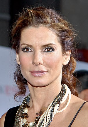 Sandra Bullock at the premiere for The Proposal