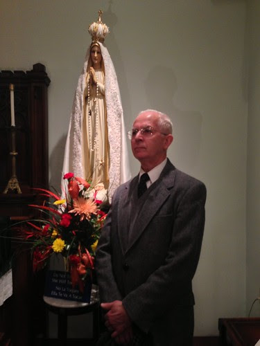 Mr. Jose Robert Dias Tavares - artist of Our Lady's Image