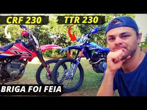 CRF 230 x TTR 230: Testando as duas, veja qual foi melhor