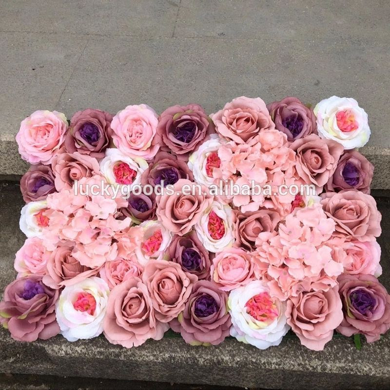 Lfb839 Fake Floral Panel Artificial Silk Flower Arrangement Supplier Wholesale Manufacturers And Factory China Wholesale Wedding Lucky Goods