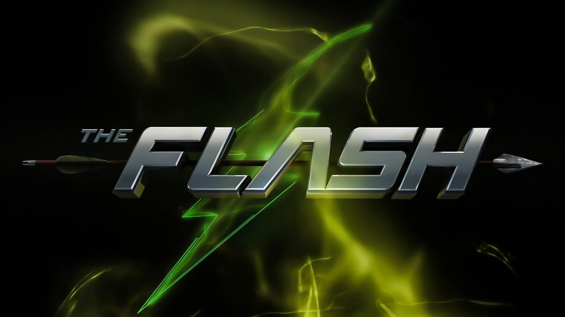 Wallpaper Flash Vs Arrow Title Flashtv