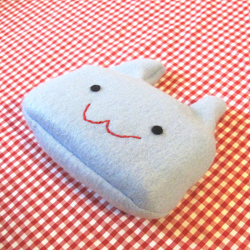 Tissue Pal Blue Bunny.