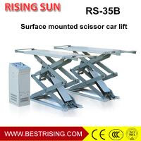 High Rise 4 C Ylinder On Ground Mounted Car Lift With Double Scissor Of Item 106884895