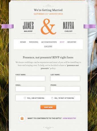 Best Wedding Themes to Create a Wedding Website