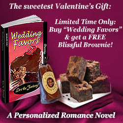 Valentine's Gift: Buy Wedding Favors & get free brownie! Limited time only