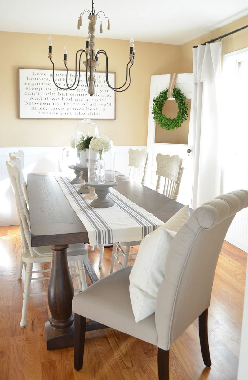Trends For Dining Room Makeover Ideas Photos