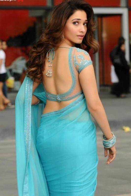 Backless-Saree-Blouses-Designs-For-Women