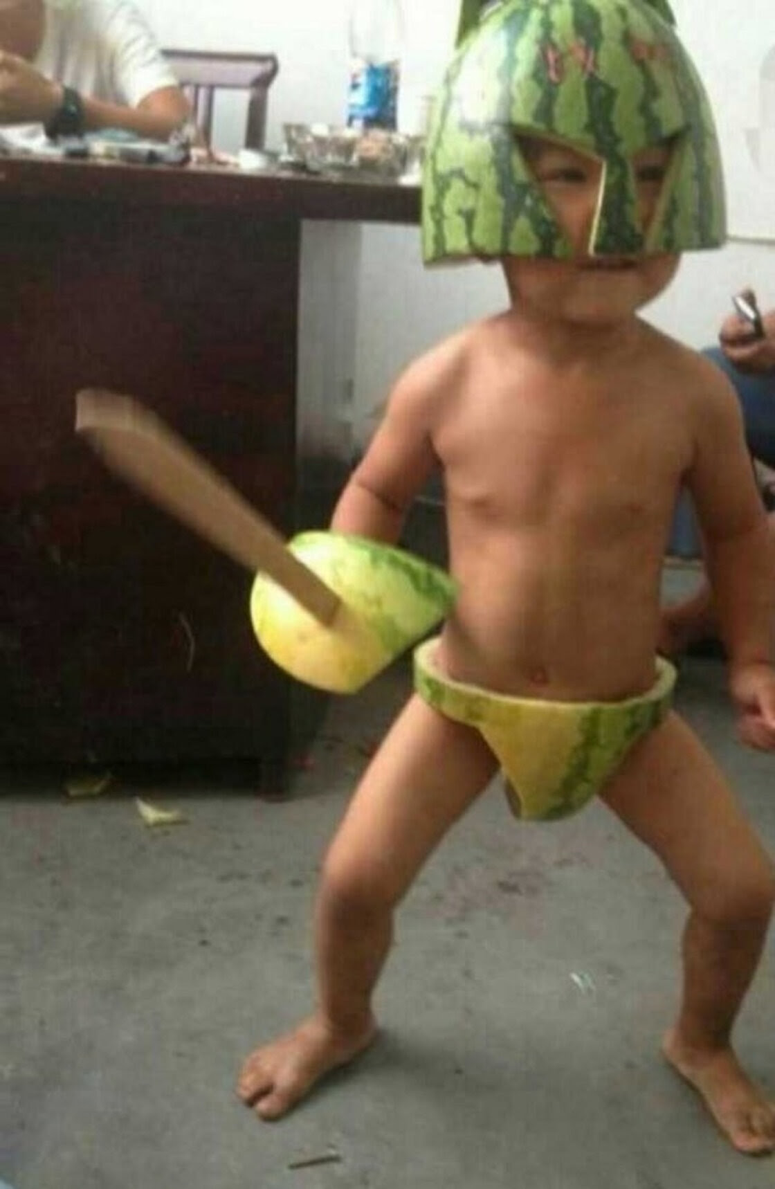 Warrior melon ...