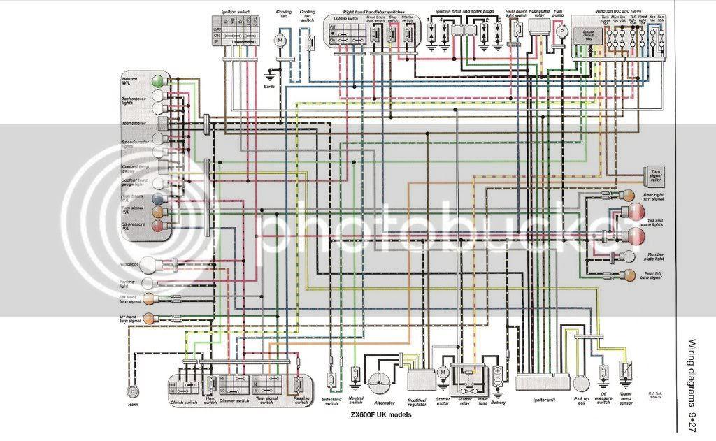 Wiring Diagram Zx6r 07