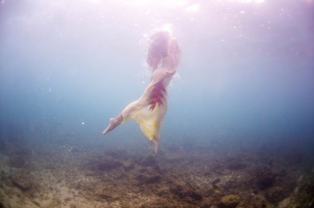 Ethereal Underwater Photos Taken at a Shipwreck Off the