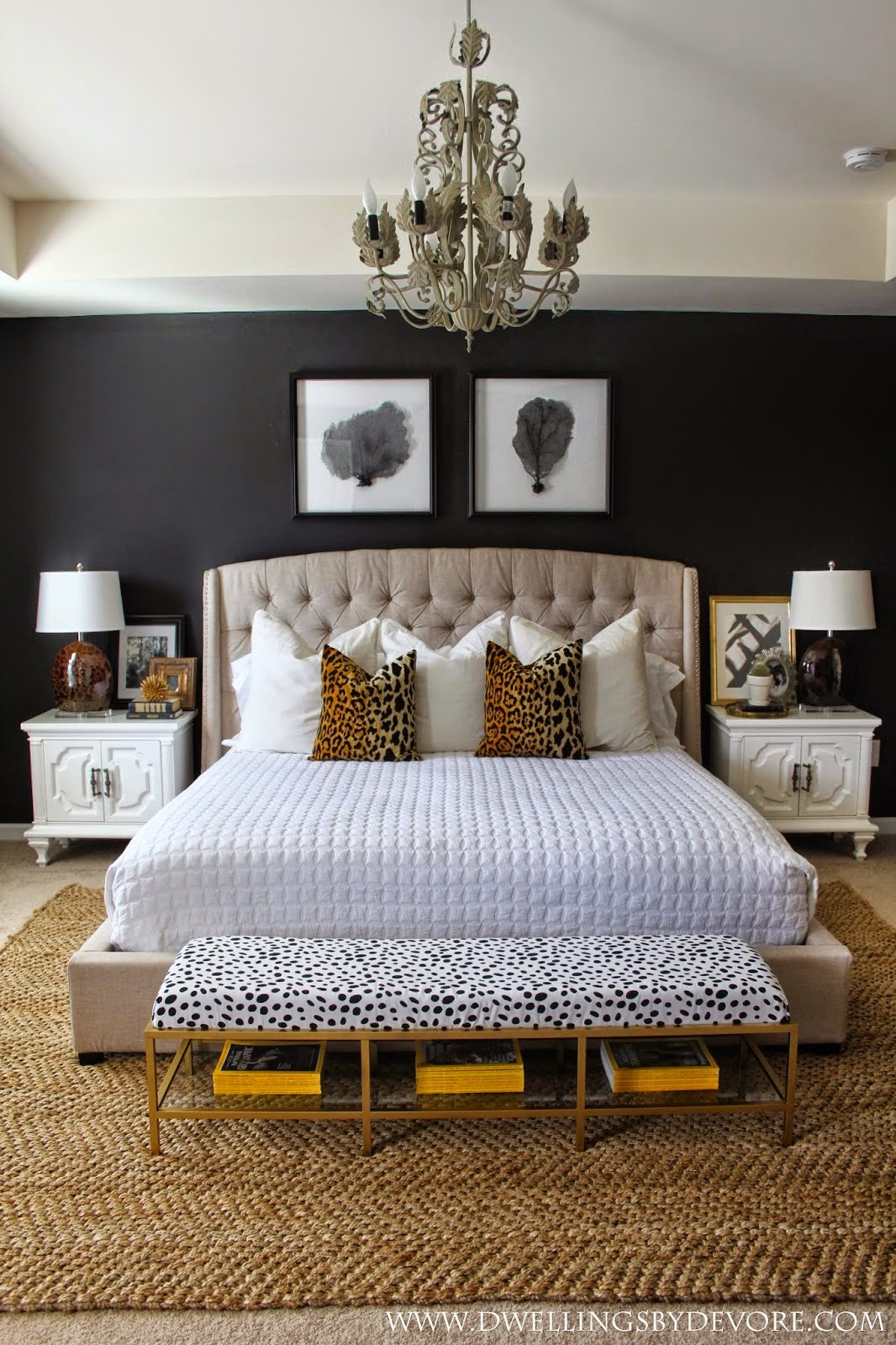 Copy Cat Chic Room Redo | Glam Master Bedroom - copycatchic