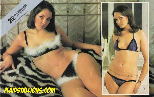 vintage lingerie catalog