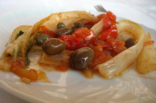 Coste con capperi e olive taggiasche