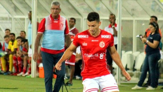 Danilo lateral-esquerdo do América-RN (Foto: Canindé Pereira/Divulgação)