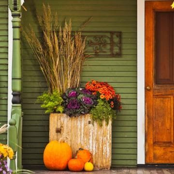 a little Fall drama for your door
