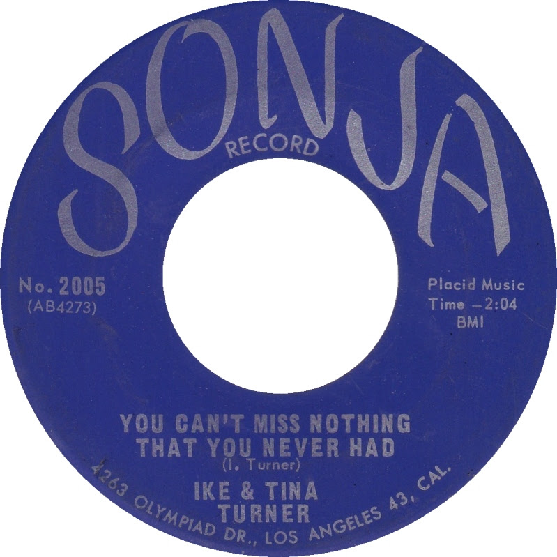 45cat Ike And Tina Turner You Cant Miss Nothing That You Never