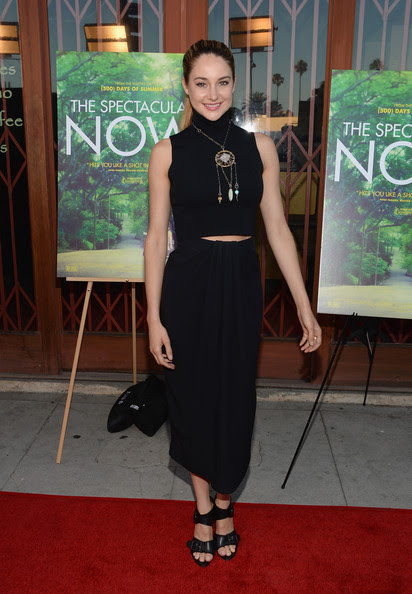 Shailene Woodley - Screening Of A24's 'The Spectacular Now' - Arrivals