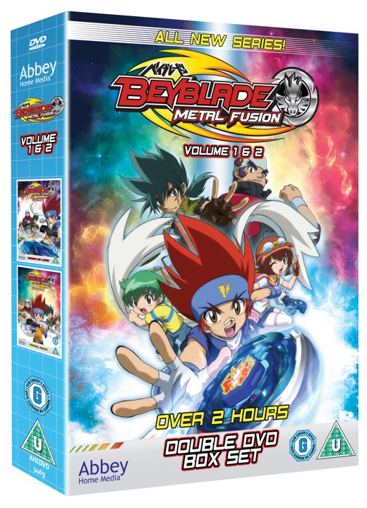 Win 1 of 10 copies of 'Beyblade Metal Fusion (vol 1&2 ...