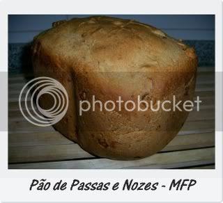 Pão de Passas e Nozes 1