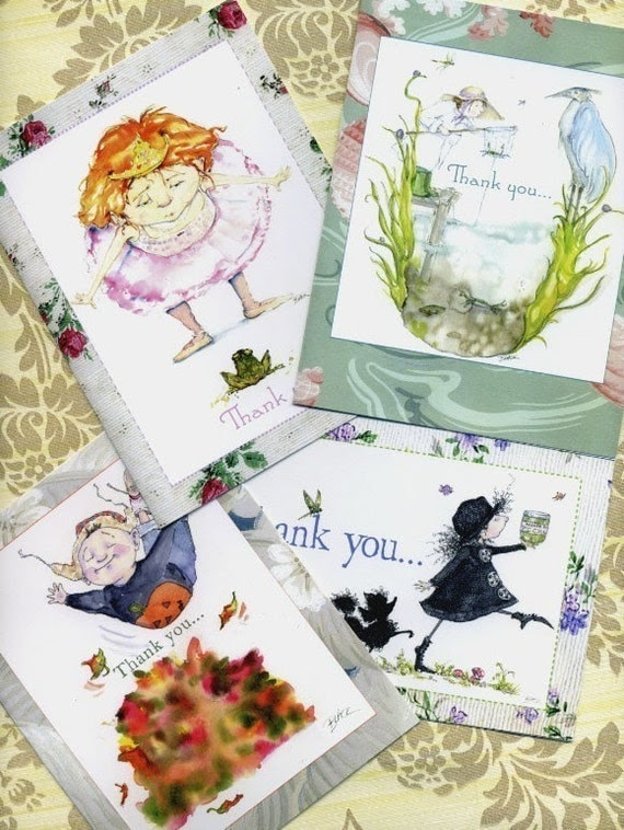 8 Thank you Cards