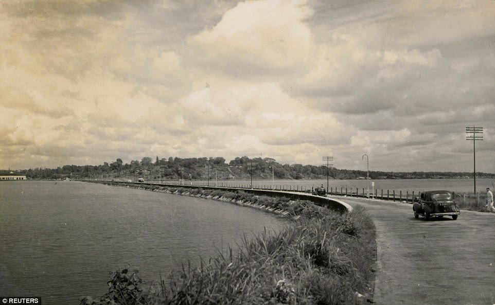 Image result for singapore causeway early years