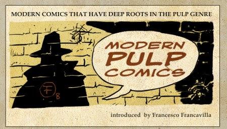 Modern Pulp Comics