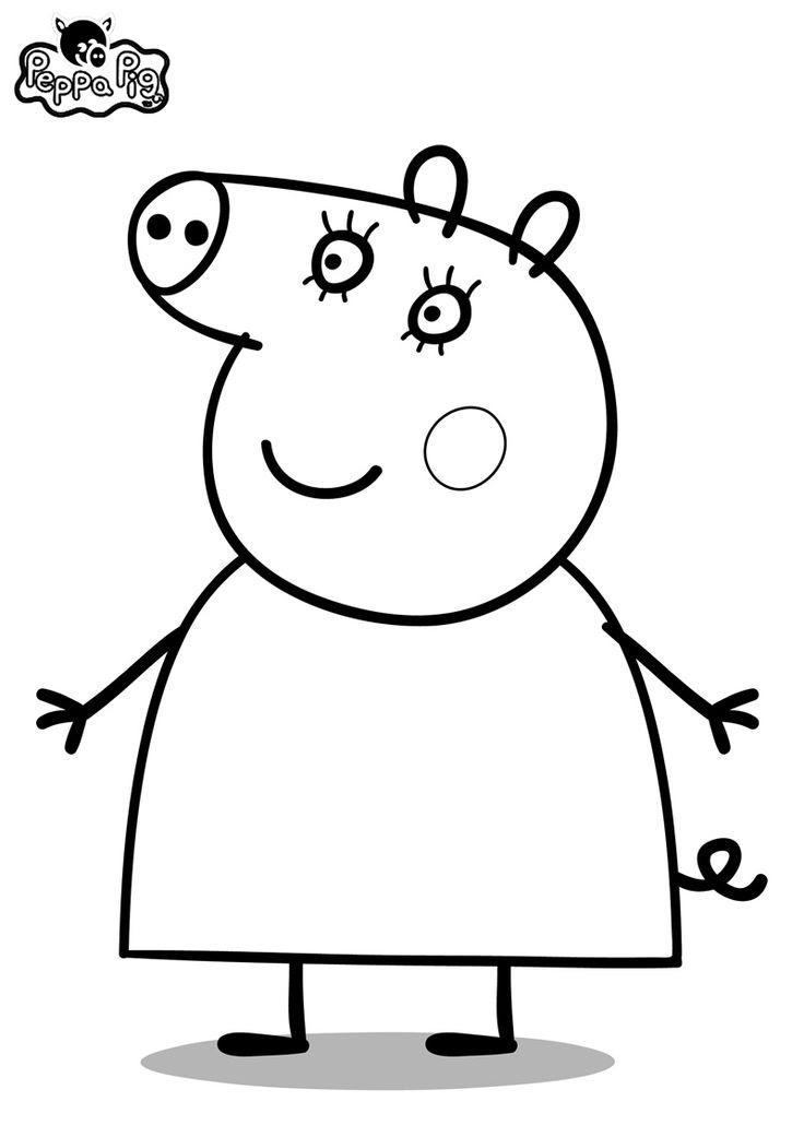 Dibujo De Peppa Pig Para Imprimir Y Colorear 8 De 19 Mildibujos Com