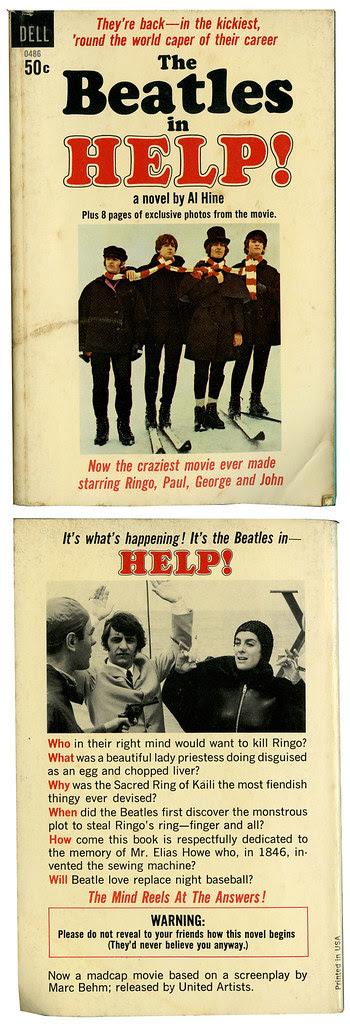 The Beatles_HELP_tatteredandlost