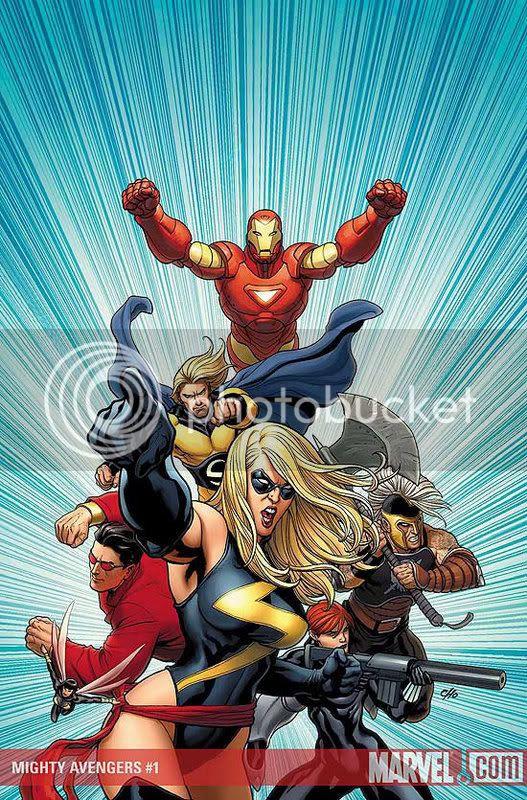 Mighty Avengers - Frank Cho