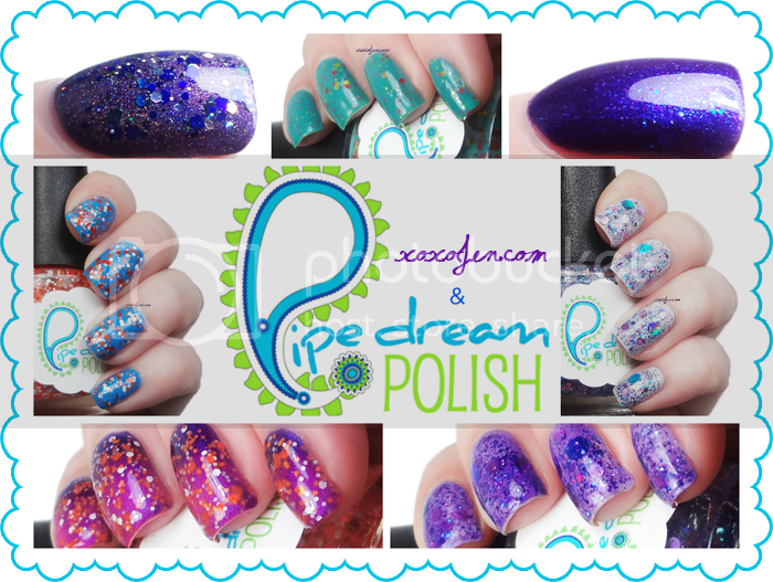 xoxoJen Pipe Dream Polish Collage