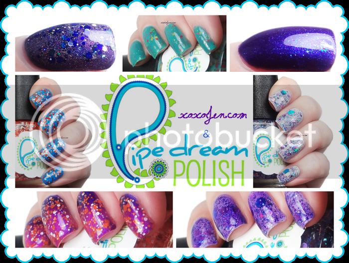 xoxoJen Pipe Dream Polish Collage