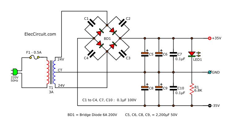 Insider: 2n3055 Mj2955 Amplifier Circuit