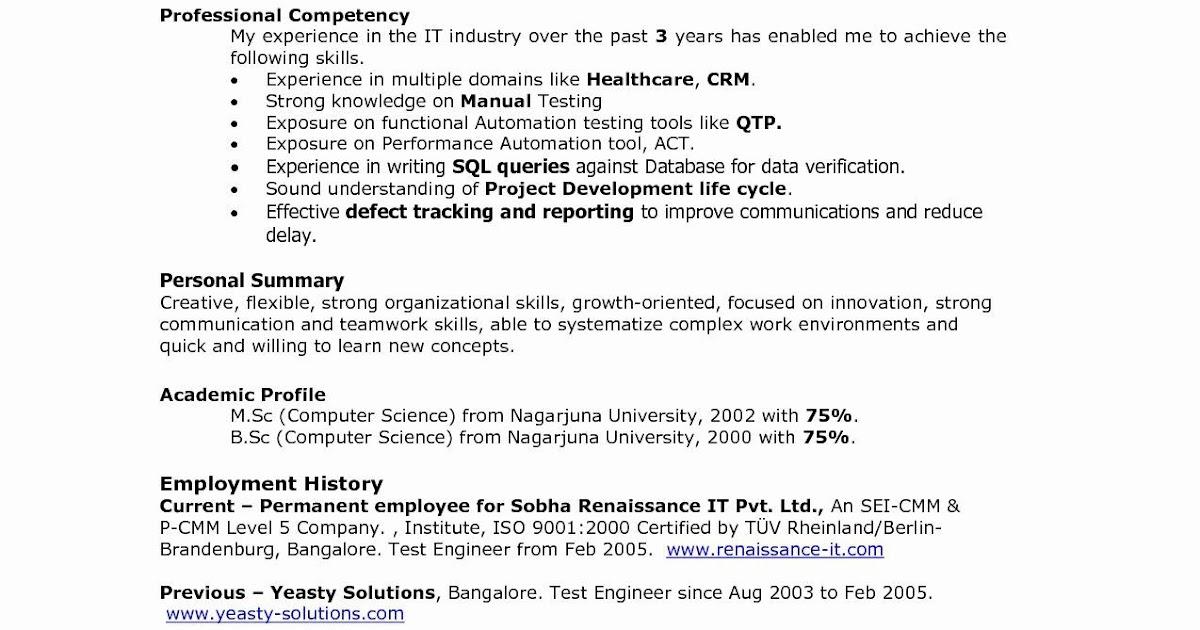 Resume For Vfx Artist - Resume Examples