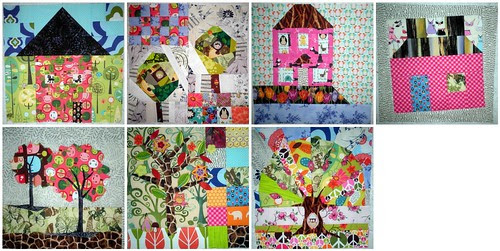 Home Sweet Home Quilt Along Update - KimsCraftyApple's blocks so far