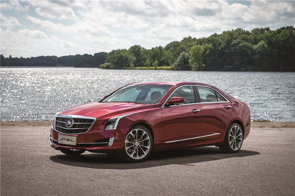 2015 Cadillac ATS-L Sedan Info, Pictures, Specs, Wiki   GM ...