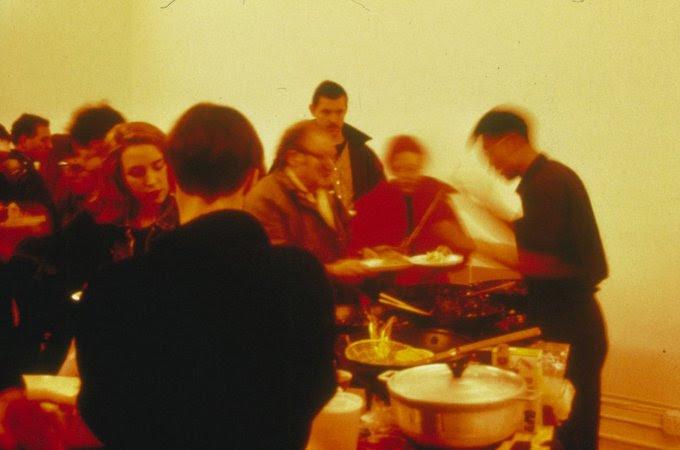 Rirkrit Tiravanija's Pad Thai, 1990