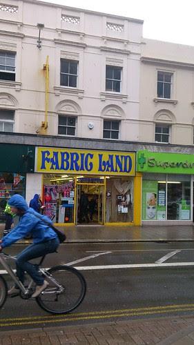 01 Fabric Land Shop, Brighton