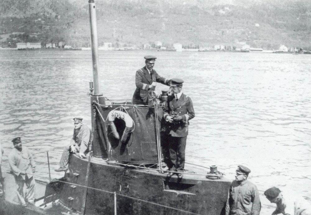 Austro-Hungarian naval duty