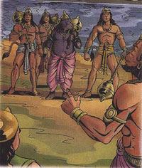 Image result for jambavan with hanuman free download