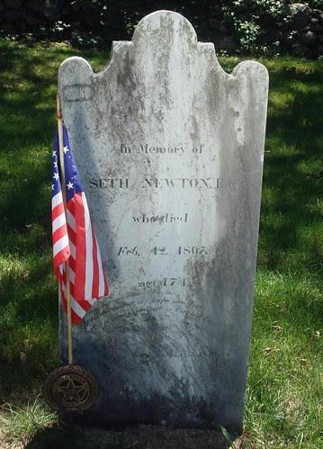 Capt. Seth NEWTON by midgefrazel