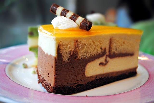 Chocolate Orange Sponge Cake