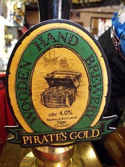 Wooden Hand, Pirate's Gold, England