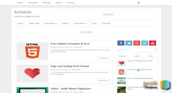 Minima Responsive Blogger Template. Free Blogger templates. Blog templates. Template blogger, professional blogger templates free. blogspot themes, blog templates. Template blogger. blogspot templates 2013. template blogger 2013, templates para blogger, soccer blogger, blog templates blogger, blogger news templates. templates para blogspot. Templates free blogger blog templates. Download 1 column, 2 column. 2 columns, 3 column, 3 columns blog templates. Free Blogger templates, template blogger. 4 column templates Blog templates. Free Blogger templates free. Template blogger, blog templates. Download Ads ready, adapted from wordpress template blogger. blog templates Abstract, dark colors. Blog templates magazine, Elegant, grunge, fresh, web2.0 template blogger. Minimalist, rounded corners blog templates. Download templates Gallery, vintage, textured, vector,  Simple floral.  Free premium, clean, 3d templates.  Anime, animals download. Free Art book, cars, cartoons, city, computers. Free Download Culture desktop family fantasy fashion templates download blog templates. Food and drink, games, gadgets, geometric blog templates. Girls, home internet health love music movies kids blog templates. Blogger download blog templates Interior, nature, neutral. Free News online store online shopping online shopping store. Free Blogger templates free template blogger, blog templates. Free download People personal, personal pages template blogger. Software space science video unique business templates download template blogger. Education entertainment photography sport travel cars and motorsports. St valentine Christmas Halloween template blogger. Download Slideshow slider, tabs tapped widget ready template blogger. Email subscription widget ready social bookmark ready post thumbnails under construction custom navbar template blogger. Free download Seo ready. Free download Footer columns, 3 columns footer, 4columns footer. Download Login ready, login support template blogger. Drop 
