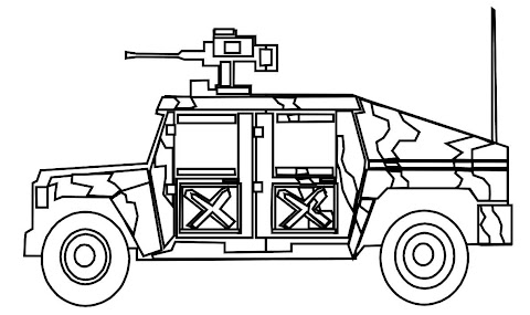 Trends For Army Jeep Coloring Pages