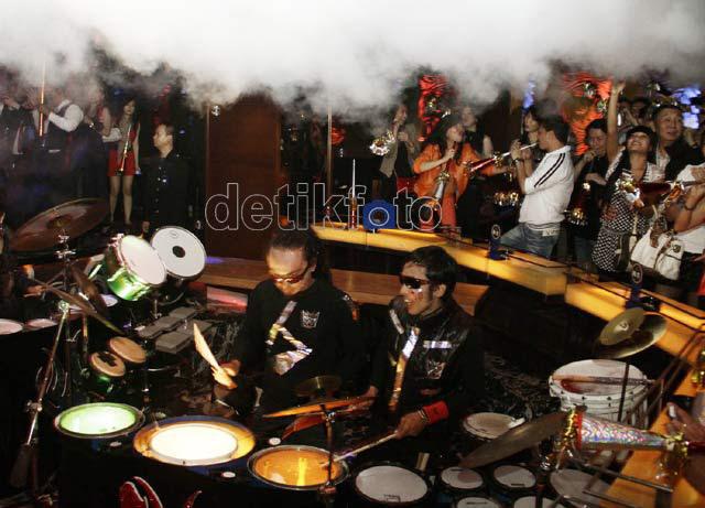 Gemerlap Tahun Baru di Jakarta