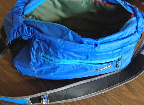Patagonia Lightweight Travel Courier with Domke Wrap inside