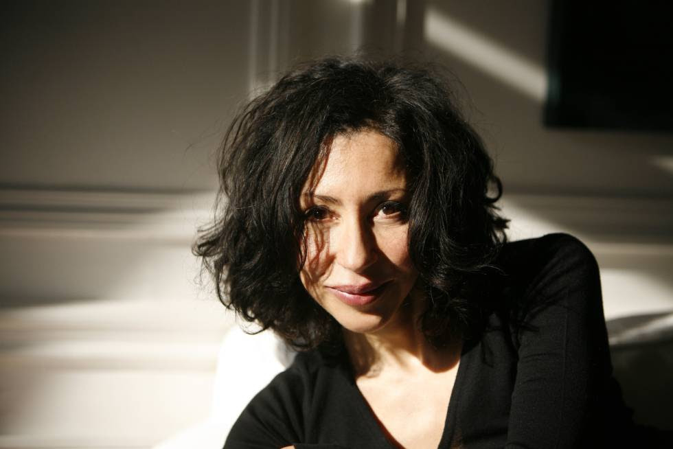 La escritora y dramaturga Yasmina Reza.